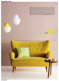 Make sure it's a neutral tone and not too melon or pop- not for a whole wall. You'll get the pops of color from the accents, i.e. barstools & artwork. Keep the wall neutral.