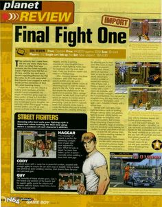 Final Fight Review