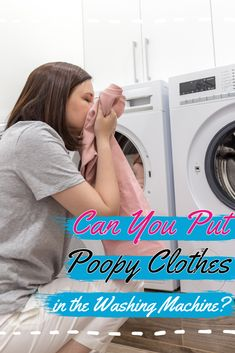 Do you know how to wash clothes with poop on them? Is it better to wash by hand or using the washer? Should you even put poopy clothes in the machine? Find out more here. Laundry Storage, Diy Storage, Laundry Room, Doing Laundry, Washing Clothes, Washer, Washing Machine, Home Appliances, Cleaning