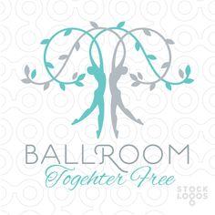 Exclusive Customizable Logo For Sale: Ballroom Together Free | StockLogos.com