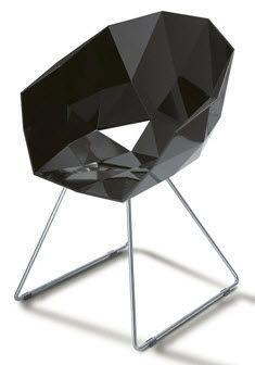 Original design sled base chair BRILLANT by Figurae