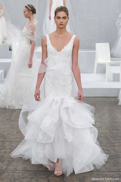 Monique Lhuillier Spring 2015 Wedding Dresses | Wedding Inspirasi