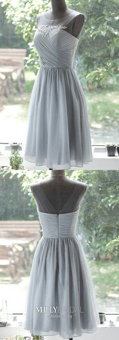 Gray Homecoming Dresses Short, A Line Homecoming Dresses Chiffon, Modest Homecoming Dresses Lace, Classy Homecoming Dresses For Teens