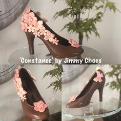 High Heels, Shoes Heels, Pumps, Chocolate Art, Chocolate Strawberries, Kitten Heels, Deserts, Strawberry, Healthy Recipes