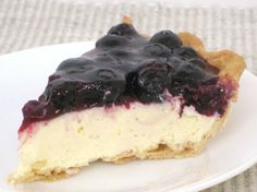 Andi, former Betty Crocker Kitchens editor shares an easy blueberry cheesecake pie recipe.