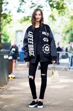 And the Most Photographed Jeans of the Season Are... via @WhoWhatWear