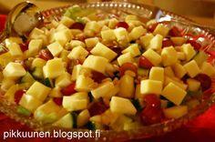 Pikkuunen: Omena-juustosalaatti