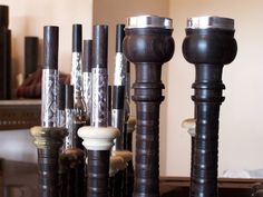 MacPherson Thistle Top Bagpipe Pipes, Turning, Celtic, Photo Galleries, Woodworking, Band, Top, Sash, Carpentry