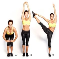 Brooke Burke-Charvet has a few favorite moves from her latest Brooke Burke Body DVDs, 30-Day Slim Down and Sexy Abs. These three exercises will tone your abs, legs, and butt. | Health.com
