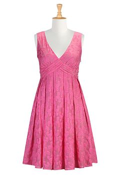 Pink Bridesmaid Dresses, Plus Size Womens Dresses Women's short dresses - Evening dresses, cocktail, prom dresses | eShakti.com