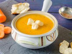 Soupe aux carottes, topinambours et pommes de terre : Recette de Soupe aux carottes, topinambours et pommes de terre - Marmiton