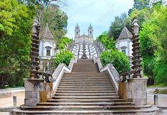 Bom Jesus do Monte Kilisesi Merdivenleri - Braga, Portekiz