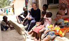 First pictures from Peter Capaldi's trip to Malawi for Comic Relief