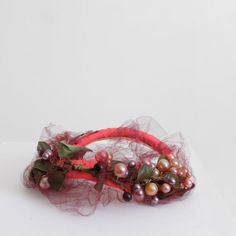 1940's Fascinator  Tiny Hat Garden Party Hat by SalvatoCollection, $80.00