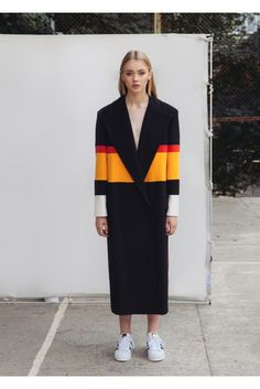 Marianna Sechina is extremely geometrical: unlike other young female designers, she is not afraid to experiment with expressive, volumnous forms. Mostly, this applies to coats and overalls: the signature element of the look for FALL/WINTER 2015-2016 season are the shoulders, cut aggressively and clearly oversize. At first glance, the coats resemble sheath or armor that protects the slender silhouettes of the models from the harshness of the cold months. Another feature is the attention to…