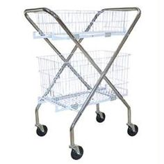 Utility Cart with Baskets