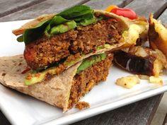 Featured PP15 Recipe: Umami Almond, Quinoa, and Sundried Tomato Burgers (vegan, gluten-free, oil-free)