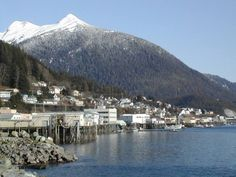 Ketchikan, AK  The city of Ketchikan is located on a remote island in the southern panhandle of Alaska.