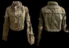 What I'm gonna wear when the Zombie Apocalypse comes.  It's what all the fashionable slayers will be wearing.