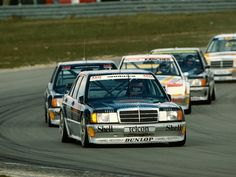 Mercedes 190 DTM race cars