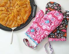 DIY Topfhandschuhe selbernähen // lovely things // girls daisy // funny rain // Hamburger Liebe // was eigenes // DIY Blog