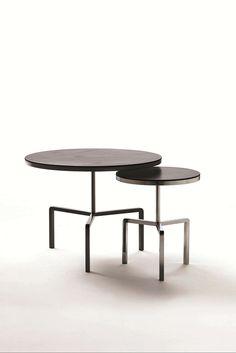 #FLEXFORM Kidd #Table – Frame in #metal and top in #wood.