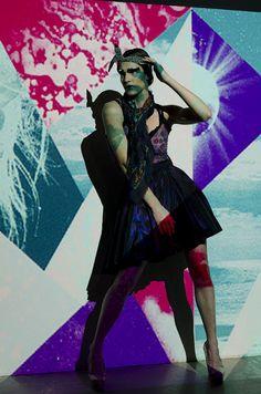 Futuristic Patterns  Photographer: Vanessa DeZutter  Stylist: Carmen Tsang  MUAH: Michelle Comtois  Model: Rachel, Numa Models  Light projections, patterns, colours, editorial, photo shoot, Fashion Books, Futuristic, Kitty, Wonder Woman, Colours, Photoshoot, Superhero, Stylists, Editorial
