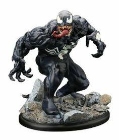 Kotobukiya Marvel Comics Amazing Spiderman Venom Unbound Fine Art Statue