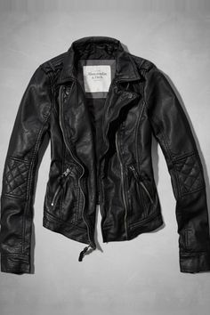 Abercrombie & Fitch Tatum Jacket, $140, available at Abercrombie & Fitch.  http://www.refinery29.com/2014/07/72085/abercrombie-fitch-black-clothing#slide1