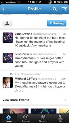 Poor Andy :( #Prayforandy