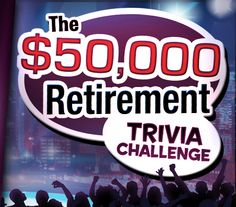 Win $50,000 towards your retirement and more!