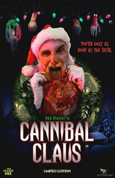 cannibal claus 2016 movie review horror movie postershorror films christmas - Best Christmas Horror Movies