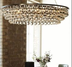 OCL1 Edgy oversized droplet chandelier. Available in a range of styles and sizes.