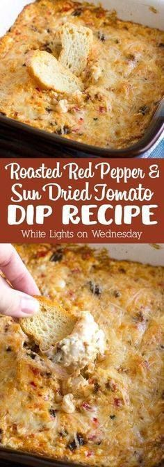 Youll never need an Youll never need another dip recipe...  Youll never need an Youll never need another dip recipe once you try this crazy good Roasted Red Pepper & Sun Dried Tomato Dip! Recipe : ift.tt/1hGiZgA And My Pinteresting Life   Recipes, Desserts, DIY, Healthy snacks, Cooking tips, Clean eating, ,home dec  ift.tt/2v8iUYW