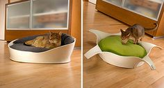 Luxury Felt Cat Beds from Pet-Interiors
