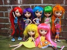 A plethora of Papins by pullip_junk, via Flickr - WANT, WANT, WANT