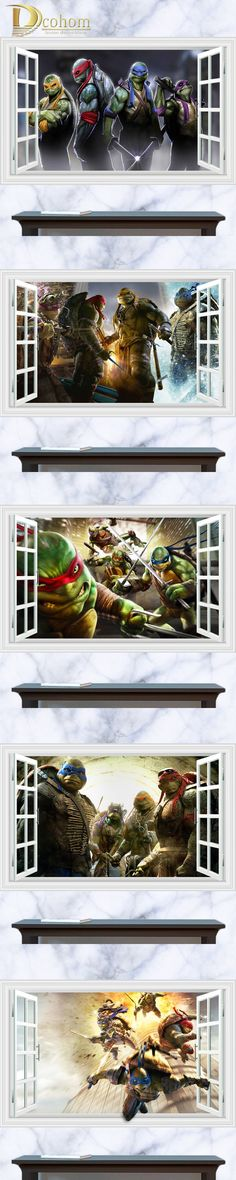 Trends International Teenage Mutant Ninja Turtles Poster Decal 18 X 24