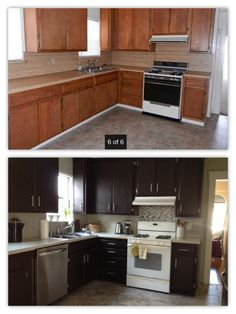 So we were adventurous and decided to remodel our kitchen on a budget. The actual cosmetic work was under $400, although we did add a dishwasher, garbage disposal, and replace the tile.Products: We…