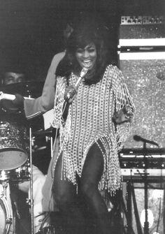 Tina Turner 1971 Tina turner at the mississippi