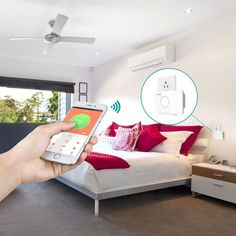 Follow Us On: Facebook or Google+ Here is a handy tool that helps you control your air conditioner and monitor energy usage from anywhere. TheAUKEY WiFi Smart Air Conditioner Partner supports all air conditioners. You will be able to use the companion app to check the status of your cooler from anywhere. The app is