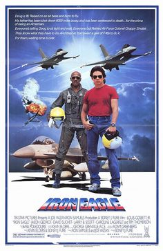Iron Eagle on DVD from Sony Pictures Home Entertainment. Directed by Sidney J., Jason Gedrick, Caroline Lagerfelt and Larry B. More Action, Military and Cult Film / TV DVDs available @ DVD Empire. 80s Movies, Good Movies, Movie Tv, Throwback Movies, Cult Movies, Action Movies, Louis Gossett Jr, Iron Eagle, David Suchet