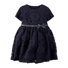 jcpenney.com | Carter's® Lace Dress - Baby Girls newborn-24m