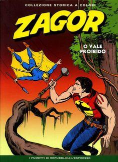 Tex Willer grátis: ZAGOR ESPECIAL EM CORES - O VALE PROIBIDO