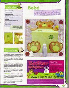 revista de manualidades, regalos para bebes