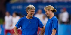 Pia Sundhage and Jill Ellis. (U.S. Soccer)