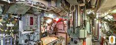 Viaggio all'interno di un sottomarino HMS Ocelot. (Clicca sulla foto per aprire il tour virtuale)