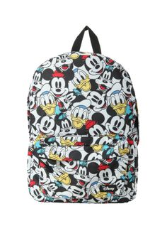 Disney Mickey Mouse & Friends Backpack | Hot Topic