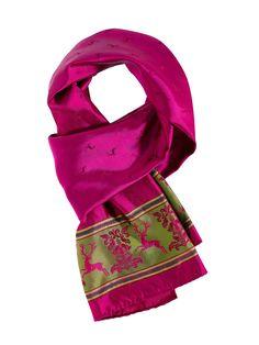 Trachten Seidentuch in Pink von Limberry
