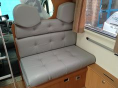 With experts in leather upholstery, we work with you to find the perfect match for your furniture. Whatever size the job, we would love to meet you. Car Upholstery, Barcelona Chair, Floor Chair, Household, Couch, Campervan, Perfect Match, Storage, Leather