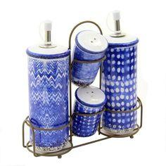 Oliviera din ceramica Azur 20x7x21 cm